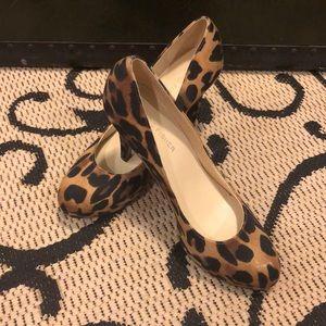 Marc Fisher cheetah print heels